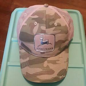 John Deere ladies baseball cap